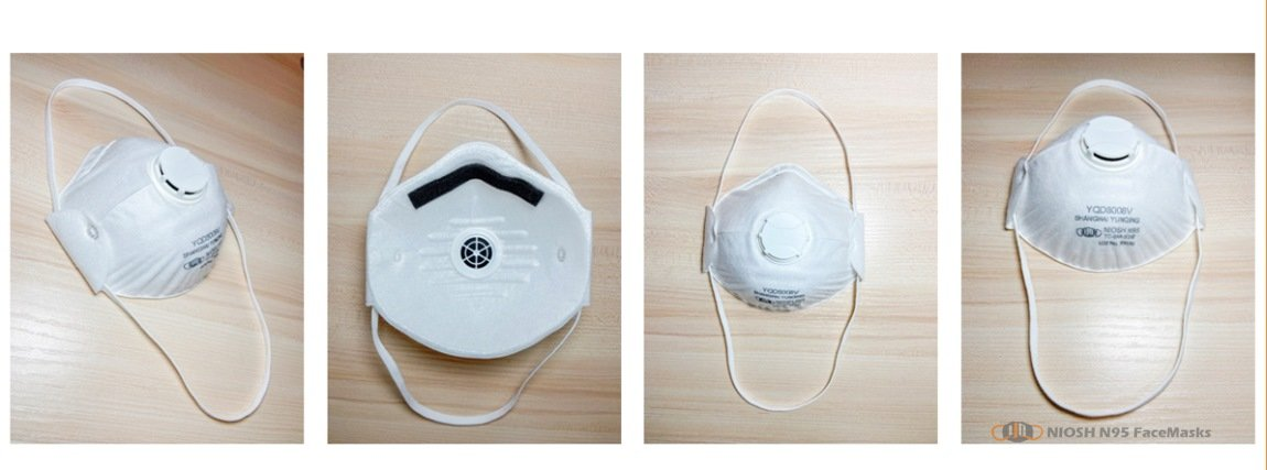 yichitai yqd8008v retails n95 tc 84a 9246 n95facemask respirator model show