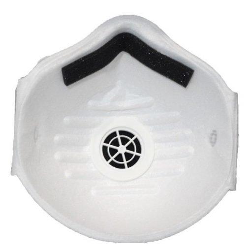 yichitai yqd8008v valved facemask genuine cup n95 back view