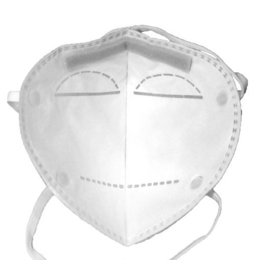 yichitai yqd95 head mounted n95 facemask respirator particulate back view