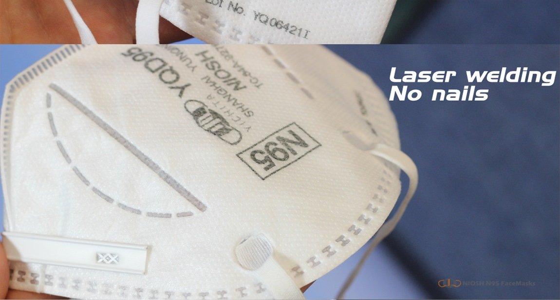yichitai yqd95 respirator original particulate instock head mounted right view